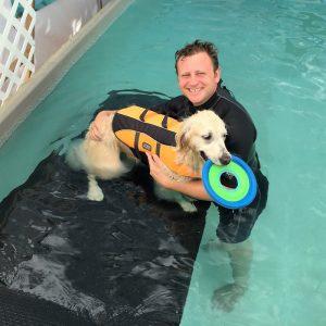 Certified Canine Hydro-therapist - Marlin Shepherd